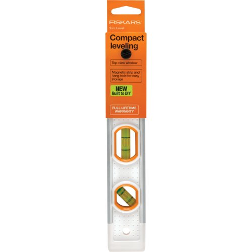 Fiskars Built To Diy Precision Compact Leveler -9""