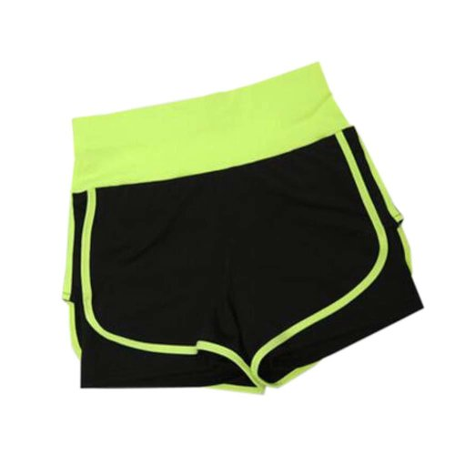 Women's Hot Elastic Waist Gym Pants Active Wear Lounge Shorts,#A 9
