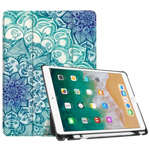 low priced e33e6 30f90 Fintie iPad Pro 10.5 Case with Apple Pencil Holder - [SlimShell] Ultra  Lightweight Standing Protective Cover with Auto Wake / Sleep Feature for...