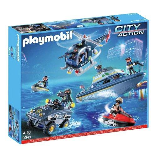 Playmobil 9043 Playmobil 9043 City Action Police SWAT Set