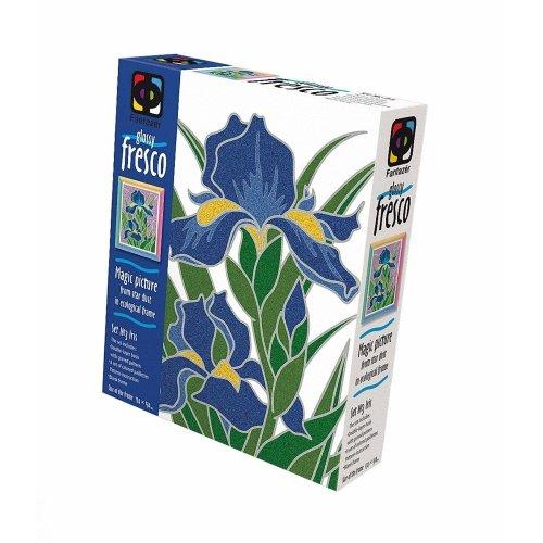 Elf407059 - Fantazer - Glossy Fresco Sand Picture - 3 Irises