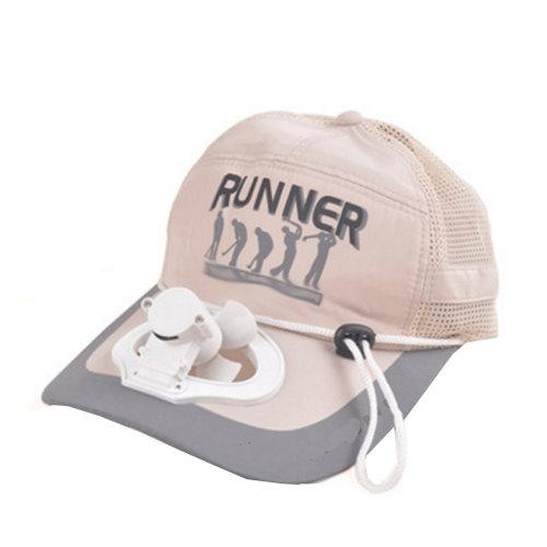 Summer Fan Hat with Fan Fishing Sun Visor Cap#M