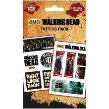 The Walking Dead Mix Tattoo Pack