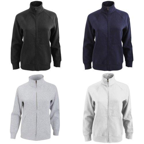 Fruit Of The Loom Ladies/Womens Lady-Fit Fleece Sweatshirt Jacket