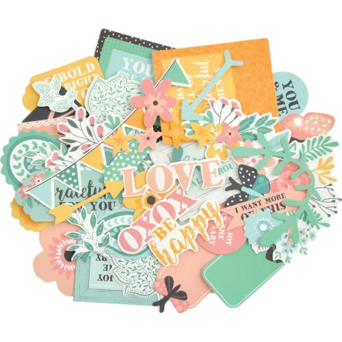 Kaisercraft Collectables Cardstock Die-Cuts-Paisley Days
