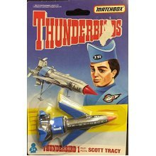 1993 THUNDERBIRDS THUNDERBIRD 1 MATCHBOX DIECAST VEHICLE