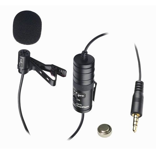 Vidpro XM L Wired Lavalier microphone 20 Audio Cable Transducer type Electret Condenser FOR Canon VIXIA HF R500 Camcorder