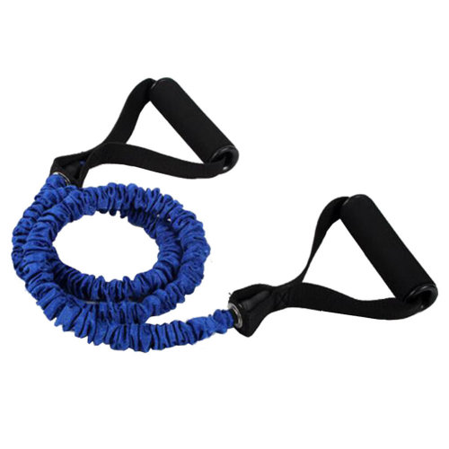 Fitness&Exercise Band Shaped Rope Expender High-elastic Resistance Blue