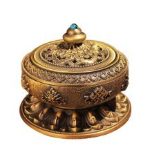 Vaporizer Tea Room Temple Ornaments Auspicious Sandalwood Incense Burner Stove