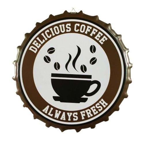 Plate Coffee Shop/Bar/Lounge Retro Funny Decor Plague