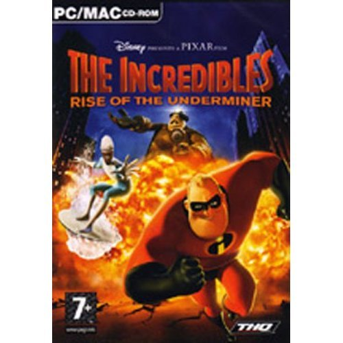 The Incredibles: Rise Of The Underminer (PC CD)