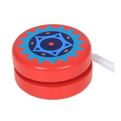 Wooden Children's Color Yo-Yo Classic Toy#A