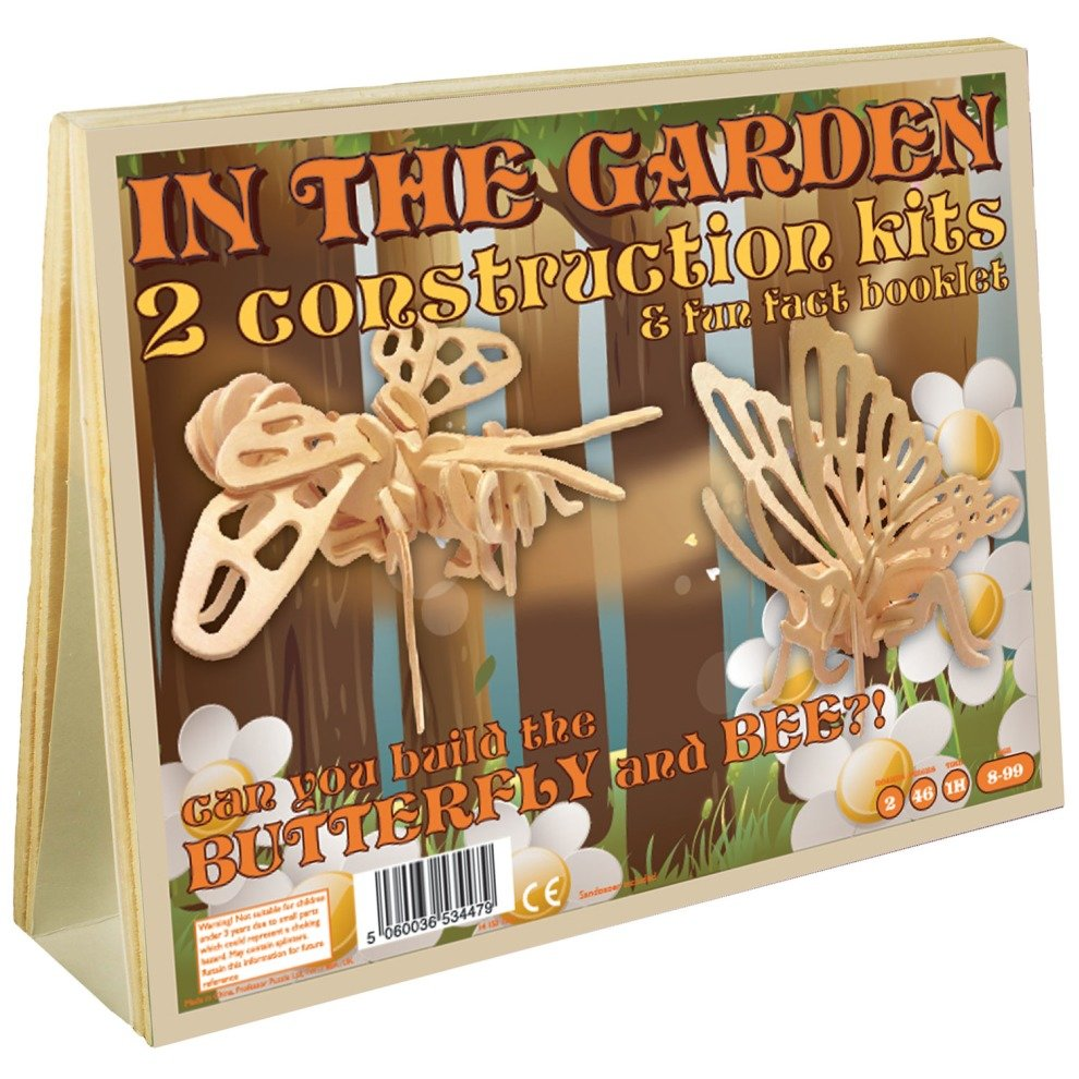 In the Garden 2 Construction Kits & Fun Fact Booklet - Butterfly and ...