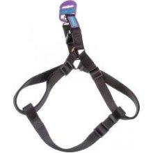"1/2"" x 24"" Black Dog Harness - Co Nylon 12mm X60cm -  dog co nylon harness black 12mm x60cm"