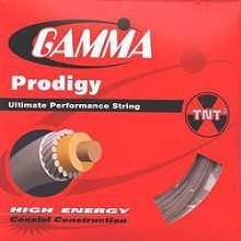 Gamma Prodigy 16G Tennis String, Natural