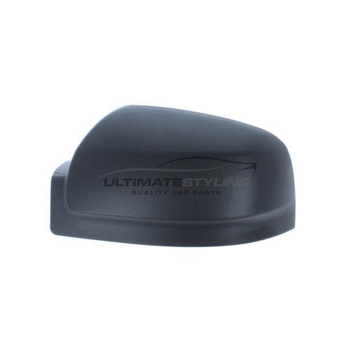 Mercedes Benz Vito W639 Van 10/2010-5/2015 Wing Mirror Cover Cap Black Textured Passenger Side (LH)