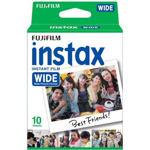Fujifilm Instax WIDE Instant Pack of 10 Shots