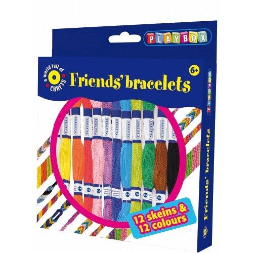Pbx2471055 - Playbox - Craft Set Friends' Bracelet