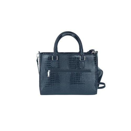 Picnic Gift 8222-BK Drink Purse-Insulated Drink Purse with Bladder Bag, Black Croc