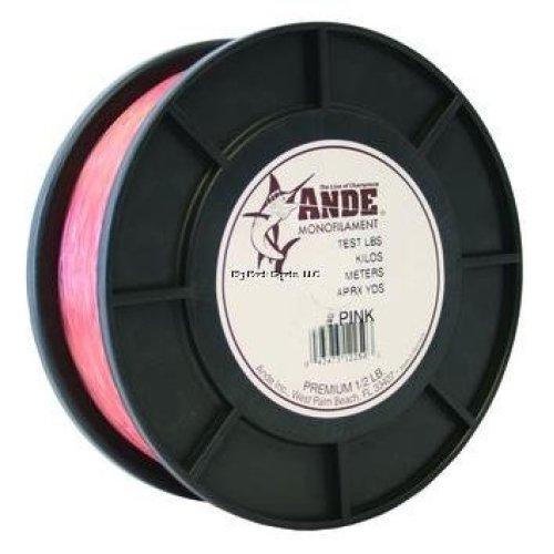 Ande Premium Monofilament - 1/2 lb. Spool - 30lb. Test - Pink