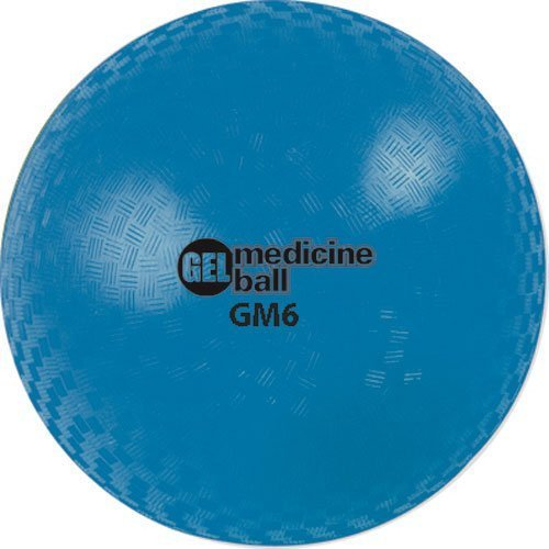 Champion Sports Gel Filled Medicine Ball Blue 4lbs