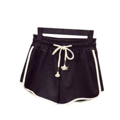 Women's Hot Active Wear Lounge Shorts Elastic Waist Gym Pants,#A 2