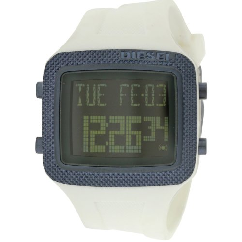 Diesel Space Age White   Digital Mens Watch DZ7215