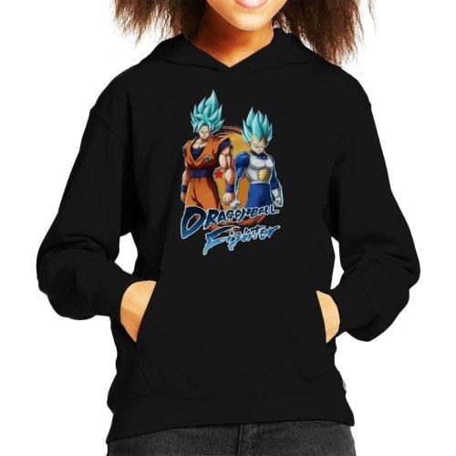 Dragon Ball Z Goku Vegeta Fighter Kid's Hooded Sweatshirt
