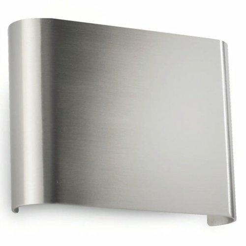 Philips LED Wall Light Galax Nickel 2x2.5 W 455901716