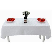 Fashion Simple Style Atmosphere Table Linens/Table Cloths(140x160 CM)-White