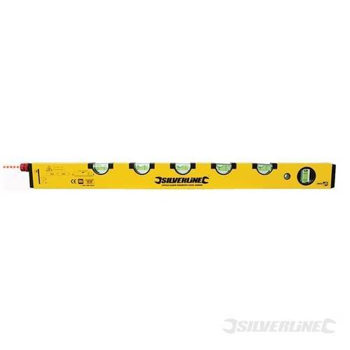 600mm Gradient Laser Level - Silverline 394965 -  gradient laser level 600mm silverline 394965
