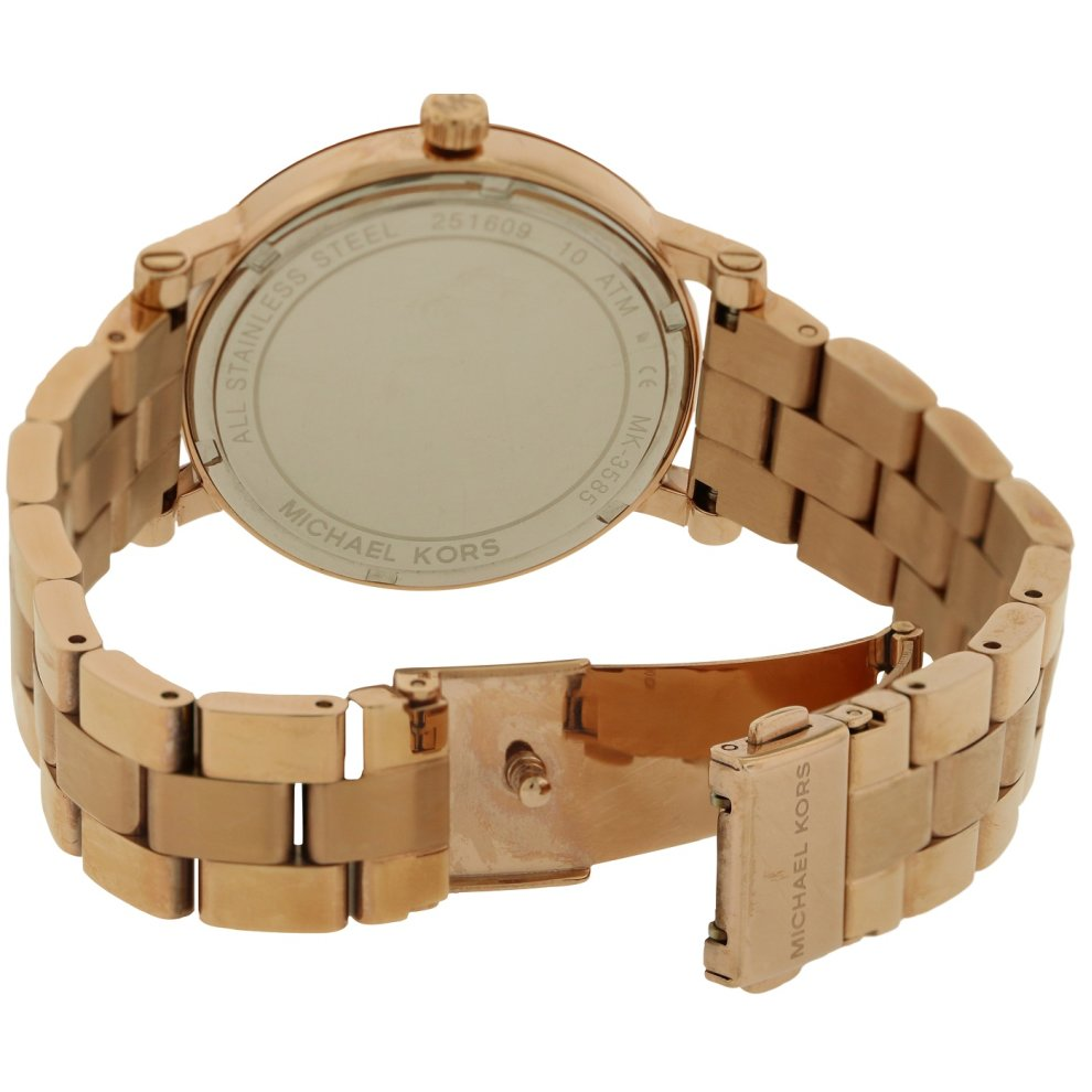 06e6f4623209 ... Michael Kors Norie Rose Gold-Tone Ladies Watch MK3585 - 1 ...