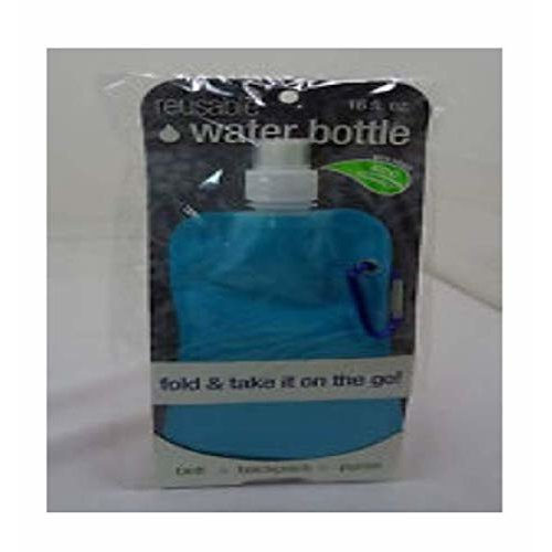 Reusable Water Bottle BPA Free Eco Friendly 16fl oz Colors May Vary