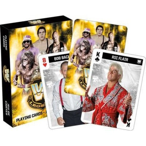 Playing Card - WWE - Legends Poker New 52535