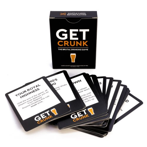 Get Crunk - The Brutal Card Drinking Game for Students, Pre Drinks, Stag & Hen Parties. You will be abused!
