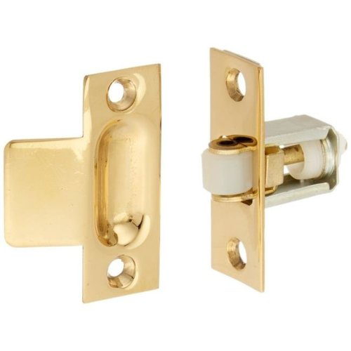 Deltana RCA430U26D 3.3 x 1 in Roller Catch Heavy Duty Solid Brass - Brushed Chrome