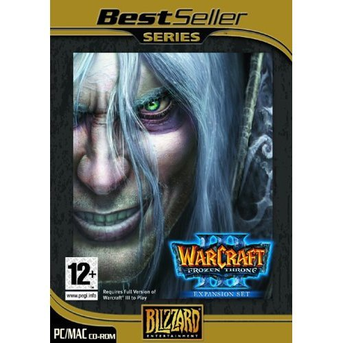 Warcraft 3 Frozen Throne Expansion Pack (PC)
