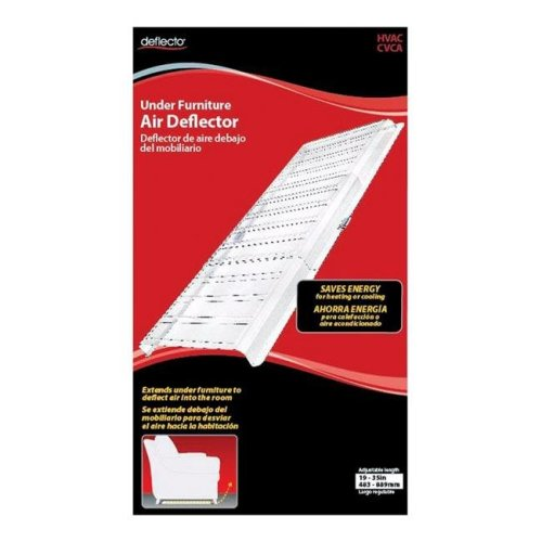 Deflecto 4808408 1.5 x 19-35 in. Under Furniture Air Deflector, Assorted - Pack of 6