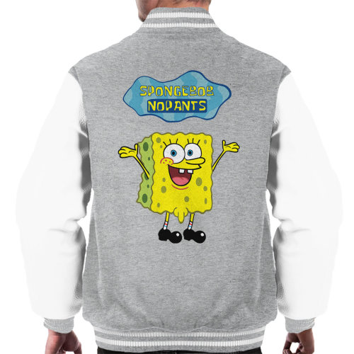 SpongeBob No Pants SquarePants Men's Varsity Jacket