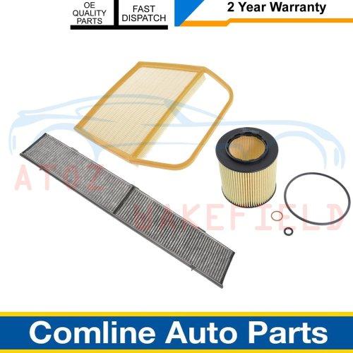FOR BMW 335i E90 E91 E92 E93 OIL AIR CABIN POLLEN FILTERS SERVICE KIT COMLINE