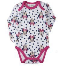 Minnie Mouse Bodysuit - Multi White