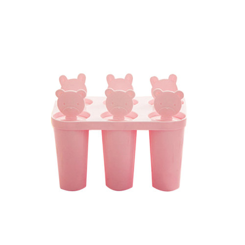 Fashion DIY Mold For Popsicle Ice Cream Pink