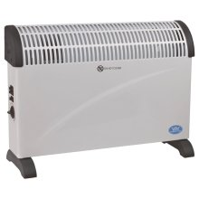 Prem-I-Air 2 kW Convector Heater with Turbo and Thermostat in White