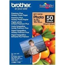 Brother Bp71gp50 Premium Glossy Photo Paper White Photo Paper
