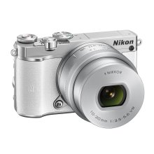 Nikon 1 J5 Compact System Camera - White