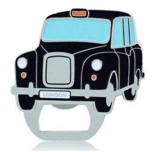 London Black Taxi Cab Fridge Magnet & Bottle Opener Metal Souvenir Gift Hackney