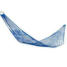 Single Person Reticular Hammock Outdoor Leisure Hammocks 80*260 CM Blue