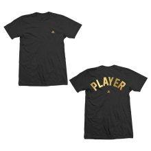 Playstation Player Gold Foil Black T-Shirt