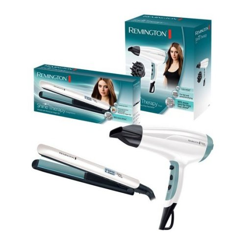 Remington Hair Straightener and Dryer Gift Set