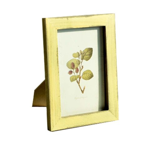 Mural Simple Fresh Wood And Colorful 6-inch Photo Frame Photo Wall